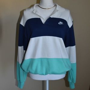 Vintage Nike Collared Sweatshirt